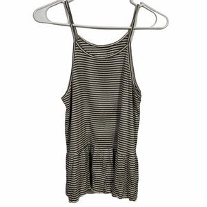 American Eagle Soft & Sexy Ribbed Skirted Tank Top